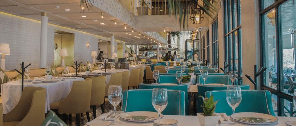 Restaurantes que dan comodidad.