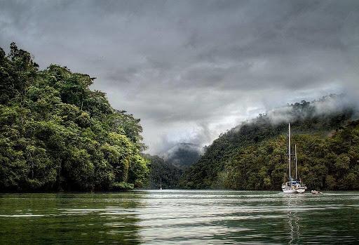 Río Dulce en Livingston