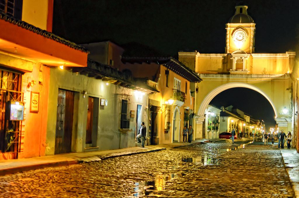 Mantente seguro en la ciudad de Antigua, Guatemala